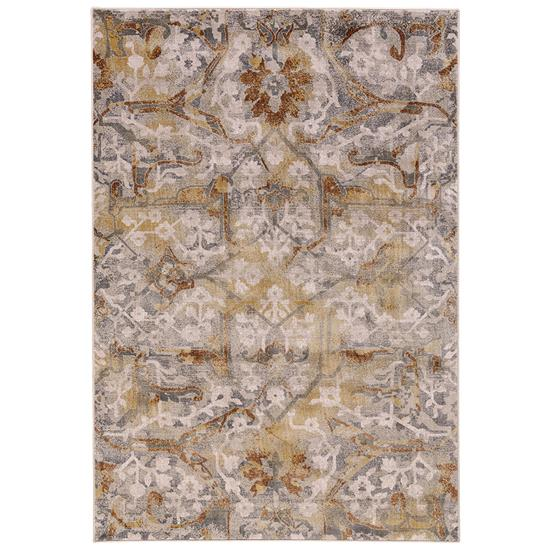 Picture of FEIZYRUGS CANNES-3685F-GRAY/YELLOW