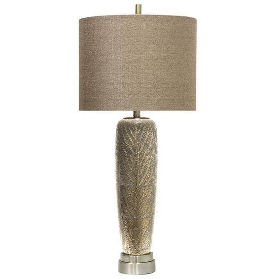 Picture of STYLECRAFT HOME L311626-METALLIC-LEAF-LAMP-x1