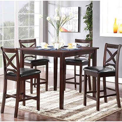 Picture of NEW CLASSIC D1435-52S-COUNTER-TABLE-4CHAIR