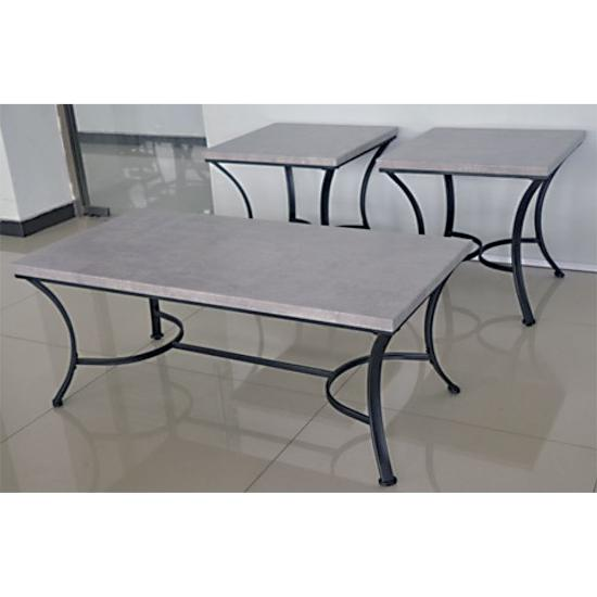 Picture of SIMMONS UPHOLSTERY 7317-43-3PK-FUAX-CONCRETE-TBLS