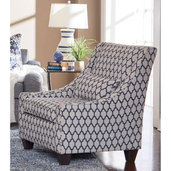 Picture of MINHAS FURNITURE HOUSE NU390-JN-AC-390-ACCENT-CHAIR